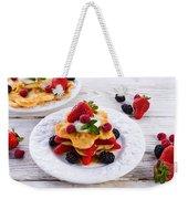 Pancake Weekender Tote Bag