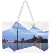 Panorama Of The City Of Toronto Weekender Tote Bag