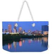 Panoramic Indianapolis Weekender Tote Bag
