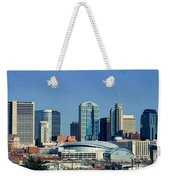 Panoramic View Of Nashville, Tennessee Weekender Tote Bag