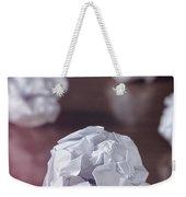 Paper Balls Weekender Tote Bag