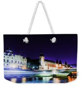 Paris At Night 15 Art  Weekender Tote Bag