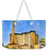 Paris Hotel And Casino Weekender Tote Bag