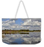 Partly Cloudy Weekender Tote Bag