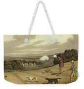 Partridge Shooting Weekender Tote Bag