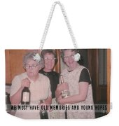 Party Time Quote Weekender Tote Bag