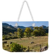 Pastural Setting Weekender Tote Bag