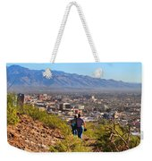 Path Around A Mountain Weekender Tote Bag