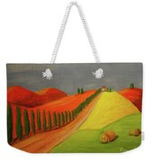 Path Weekender Tote Bag