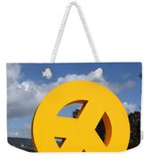 Peace From The Oakland Museum . Oakland California . 7d13411 Weekender Tote Bag