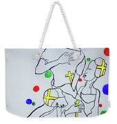 Peace The Inner Message Poster South Sudan Weekender Tote Bag