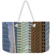 Peace Tower Abstract Weekender Tote Bag
