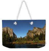 Peaceful Merced River Weekender Tote Bag