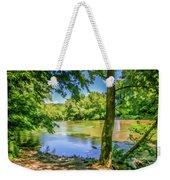 Peaceful On The River Weekender Tote Bag