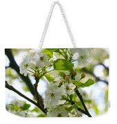 Pear Tree Blossoms Weekender Tote Bag