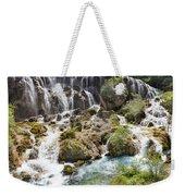 Pearl Shoal Waterfall Weekender Tote Bag