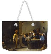 Peasants Celebrating Twelfth Night Weekender Tote Bag
