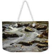 Pebble Creek Weekender Tote Bag