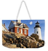 Pemaquid Point Lighthouse Weekender Tote Bag