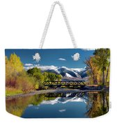 Perfect Autumn Day Weekender Tote Bag