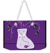 Personality Vase Weekender Tote Bag