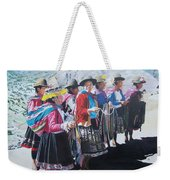 Peruvian Ladies Weekender Tote Bag