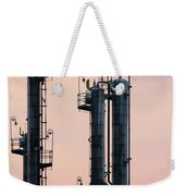 Petrochemical Plant Industry Zone Twilight Weekender Tote Bag