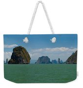 Phang Nga Province Of Phuket Thailand Weekender Tote Bag