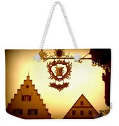 Pharmacy Sign In Rothenburg Weekender Tote Bag
