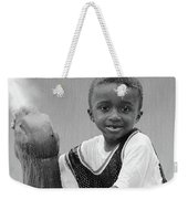 Philly Fountain Kid Weekender Tote Bag