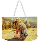 Photographer On Sentinel Dome Weekender Tote Bag