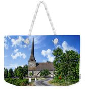 Picturesque Rural Church Weekender Tote Bag