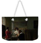 Pieter De Hooch Weekender Tote Bag
