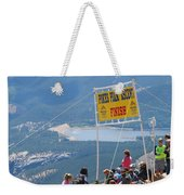 Pikes Peak Marathon And Ascent Weekender Tote Bag