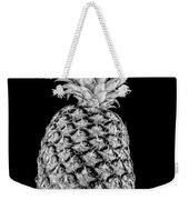 Pineapple Isolated On Black Weekender Tote Bag