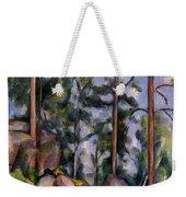 Pines And Rocks Weekender Tote Bag