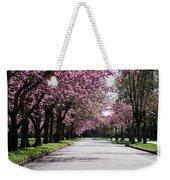 Pink Blooming Trees Weekender Tote Bag