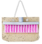 Pink Broom Weekender Tote Bag