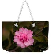 Pink Camellia  Weekender Tote Bag