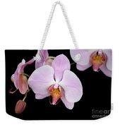 Pink Orchid Vii Weekender Tote Bag