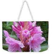 Pink Rhododendron 0070 Weekender Tote Bag