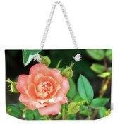 Pink Rose In The Garden Weekender Tote Bag