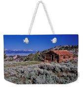 Pioneer Cabin Weekender Tote Bag