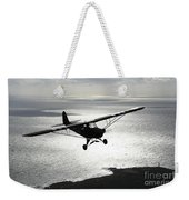 Piper L-4 Cub In Us Army D-day Colors Weekender Tote Bag