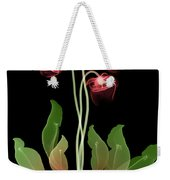 Pitcher Plant Flowers, X-ray Weekender Tote Bag