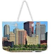 Pittsburgh Building Cluster Weekender Tote Bag