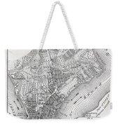 Plan Of The City Of New York Weekender Tote Bag