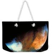 Planet Mars Weekender Tote Bag