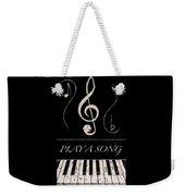 Play A Song Weekender Tote Bag
