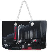 Plaza Theater Us Mexico Border Town Nuevo Laredo Nuevo Leon Mexico Collage 1977-2012 Weekender Tote Bag